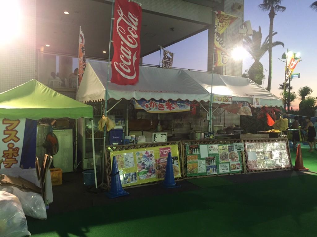 リゾ鳴尾浜の飲食の売店。安い