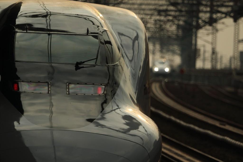 新幹線での携帯電話はやっぱLINEっす